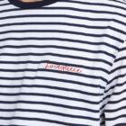 Man with breton stripe t-shirt